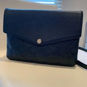 Louis Vuitton Pochette Empreinte Leather Crossbody